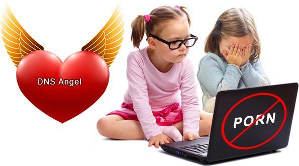 Blocare site-uri pentru copii (DNS Angel)