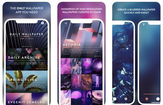 Imagini de fundal pentru iPhone Vellum Wallpapers