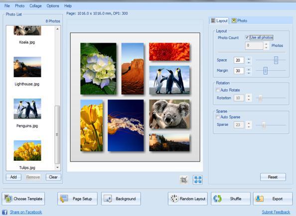 Program de făcut colaje cu poze download CollageIt