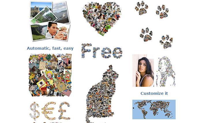 Shape Collage Program de făcut colaj din poze