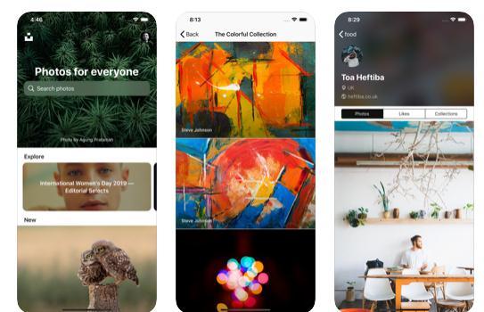 imagini de fundal pentru iPhone Unsplash