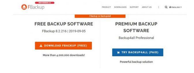 program pentru backup FBackup