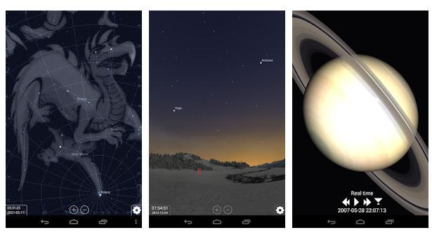 Alte aplicații de văzut stelele
