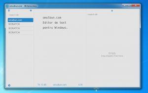 Cel mai bun editor de text pentru Windows (minimalist)