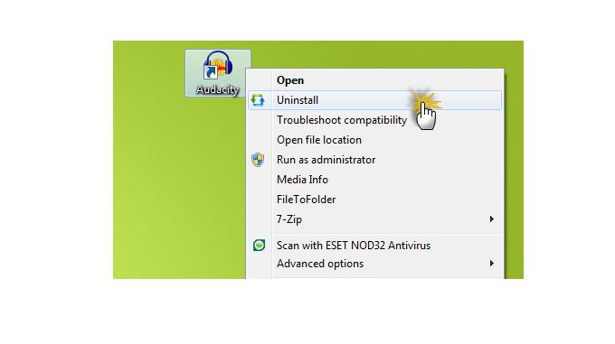 Dezinstalare programe Windows 7, 8, Vista sau XP