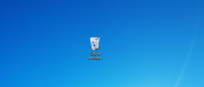 Coș de reciclare Windows 7