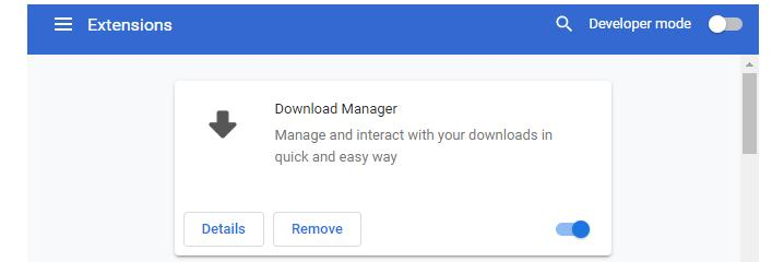 Dezactivare extensii Chrome