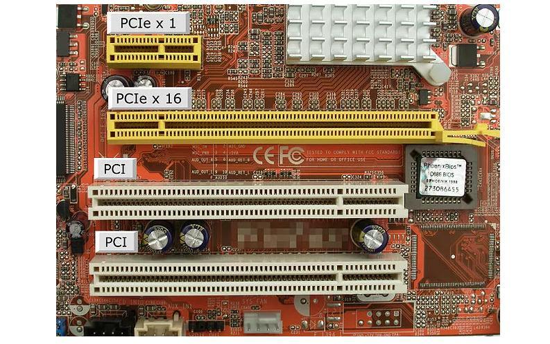 Montare placă video PC