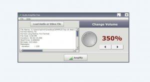 Reglare volum la fișiere audio și video
