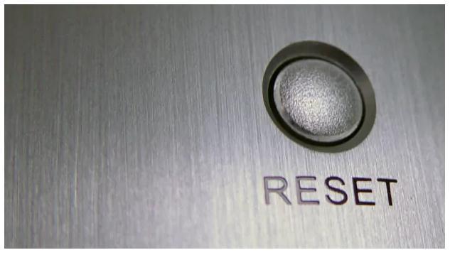 butonul de resetare calculator desktop