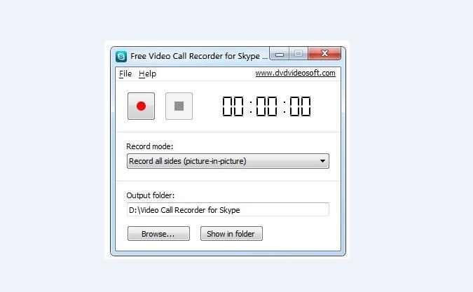 Înregistrare convorbiri Skype cu Free Video Call Recorder