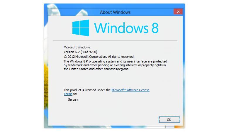 Activează transparența ferestrelor în Windows 8