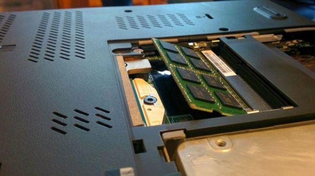 Montare memorie RAM laptop