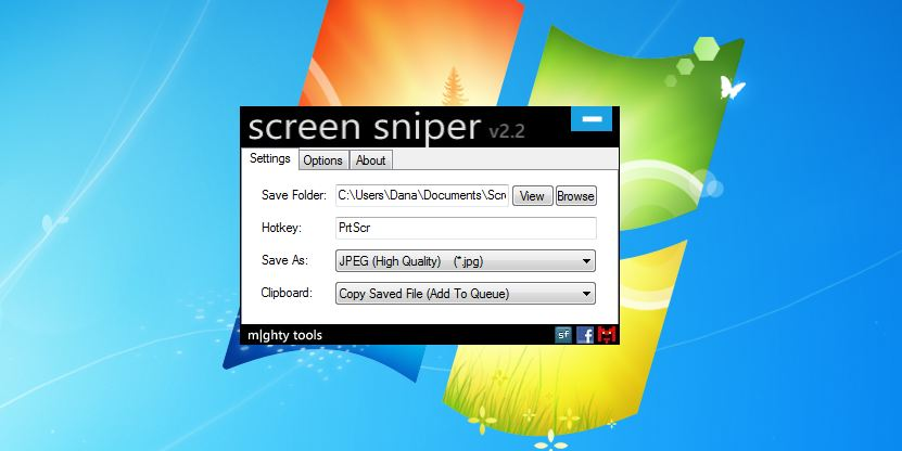 Salvează capturile de ecran pe PC