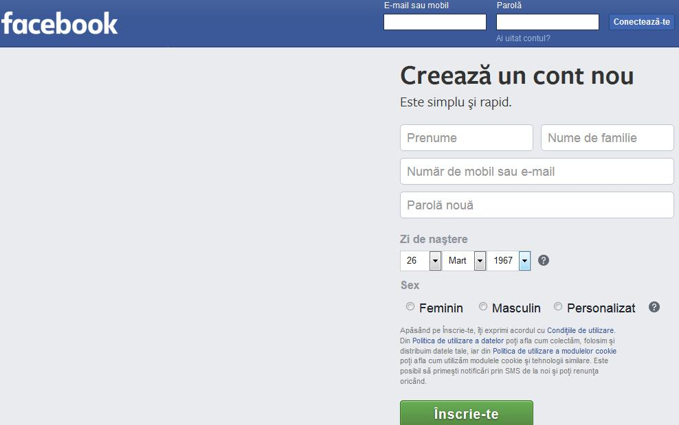 Schimbă limba la Facebook în română pe telefon sau PC