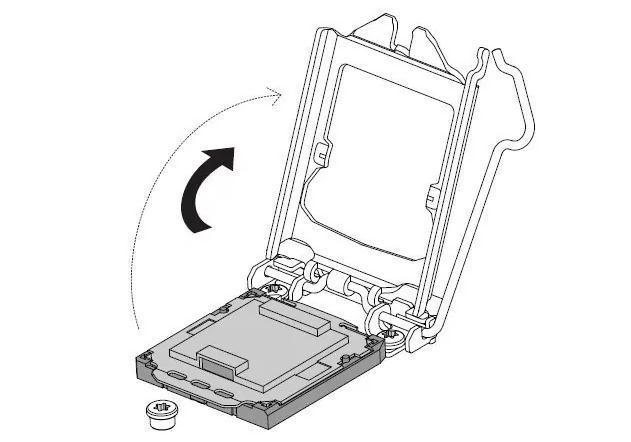 placa de la procesor de pe placa de baza