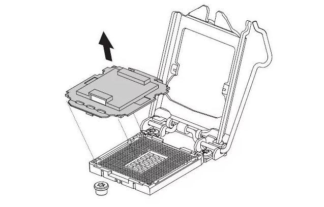 plasticul care protejează socket-ul