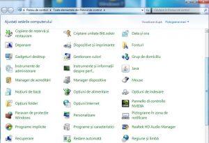 Dezactivare sau activare hibernare Windows 7