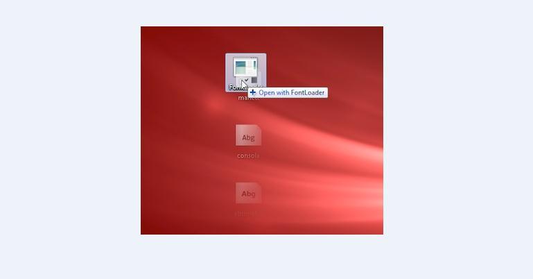 Instalare fonturi temporar în Windows