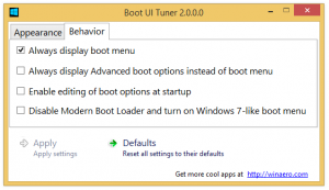 Schimbă opțiunile de pornire în Windows 8