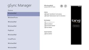 Sincronizare Google Calendar direct din Windows 8