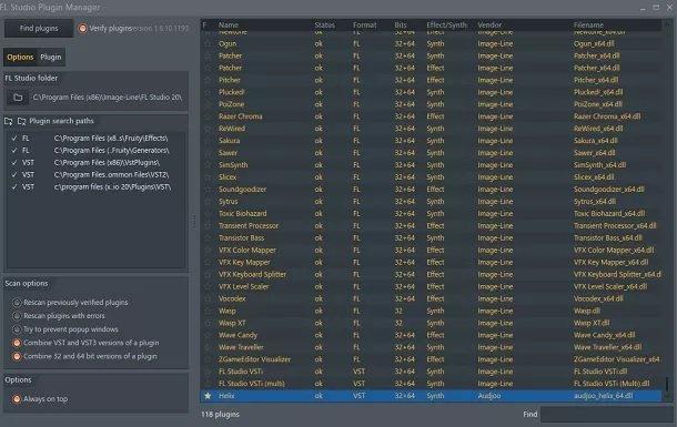 Cum activezi un plugin VST în FL Studio