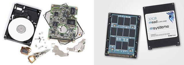 Hard disk (SSD)