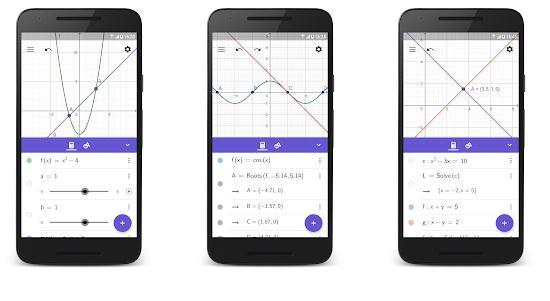 aplicatii pentru functii matematice