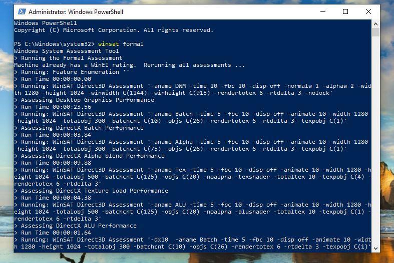 Performanță PC Windows 10