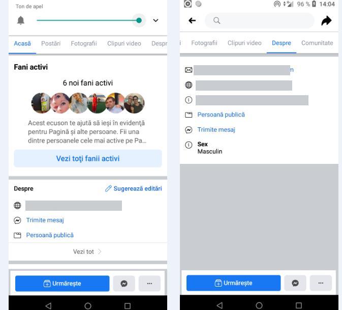 recuperare adresa de e-mail Facebook telefon Android