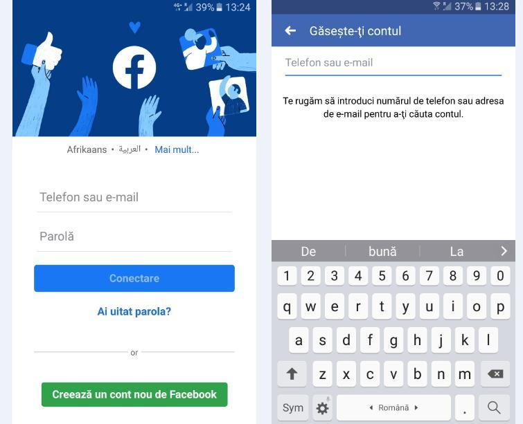 cum recuperezi e-mail facebook