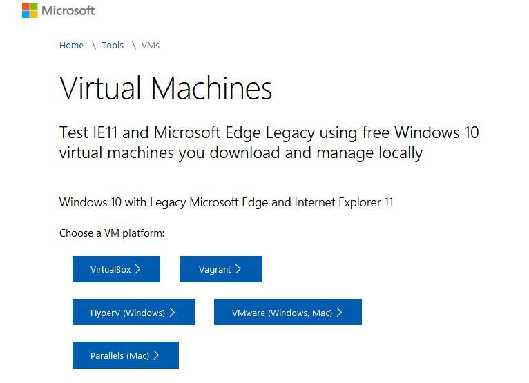 Descarcă mașină virtuală Windows 7