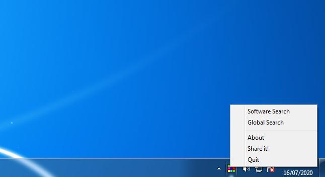 Program de transformat tastatura numerică în comenzi rapide