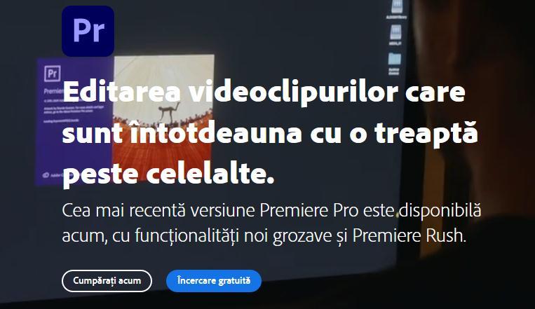 Descarcă Adobe Premiere gratis pe PC