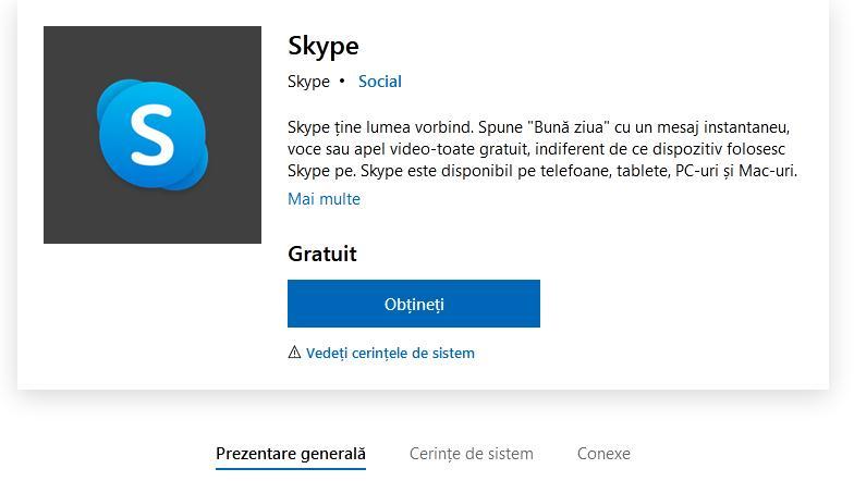 Descarcă Skype pe PC
