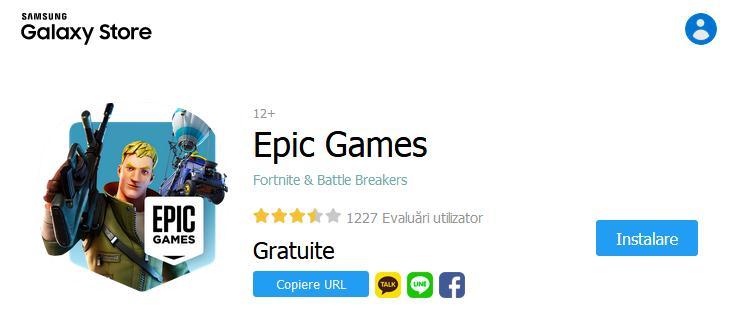 instalare Epic Games