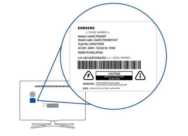 Unde găsesc codul televizorului Samsung