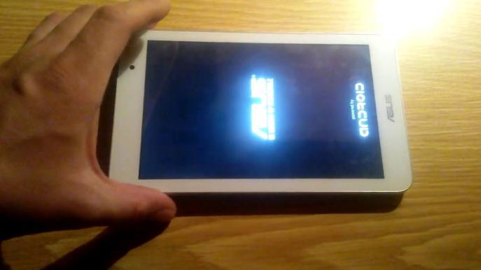 Resetare tableta ASUS Factory reset