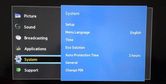Resetare cod PIN TV Samsung