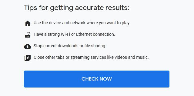 Speedtest - Google