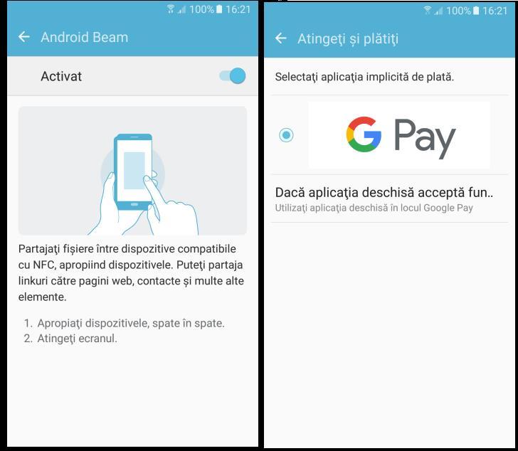 Activarea functiei pentru plăți