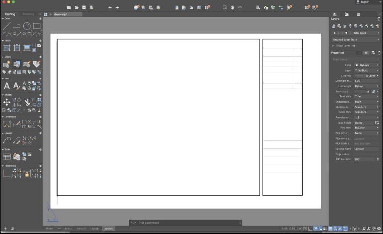 AutoCAD pentru Mac