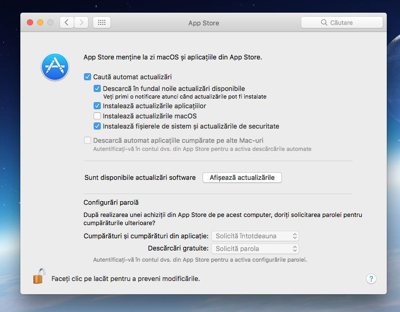 Actualizare iTunes pe Mac