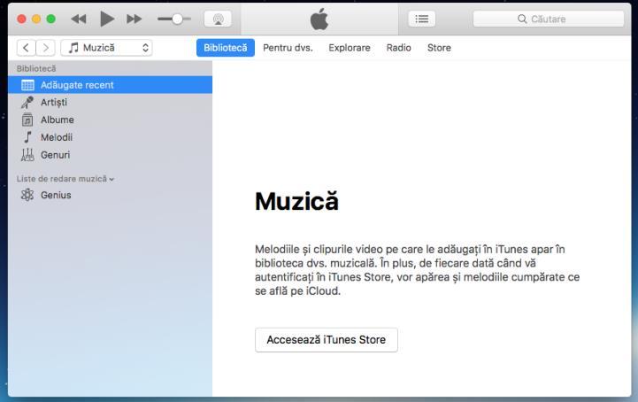 Descarcă iTunes pentru Mac