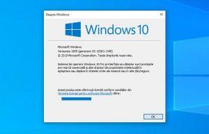 Unde văd ce versiune de Windows am