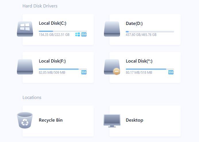 Recuperare fișiere șterse din calculator