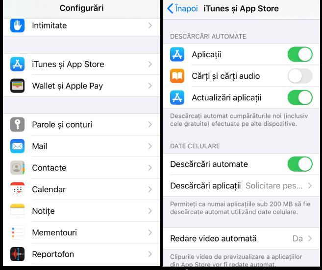 Actualizare WhatsApp automat pe iPhone