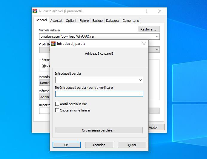 Download WinRAR gratuit pentru Windows 10