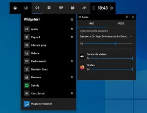 Înregistrare ecran în Windows 10