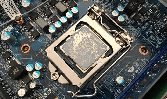Aplicarea pastei termoconductoare pe procesor